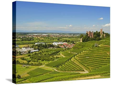 Ortenberg Castle, Ortenberg, Ortenau, Baden-Wurttemberg, Germany, Europe-Jochen Schlenker-Stretched Canvas Print