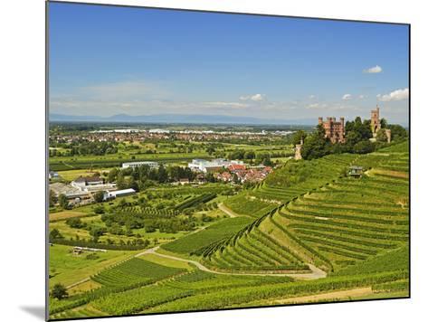 Ortenberg Castle, Ortenberg, Ortenau, Baden-Wurttemberg, Germany, Europe-Jochen Schlenker-Mounted Photographic Print