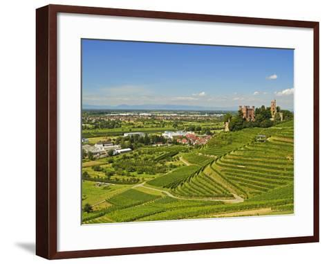 Ortenberg Castle, Ortenberg, Ortenau, Baden-Wurttemberg, Germany, Europe-Jochen Schlenker-Framed Art Print