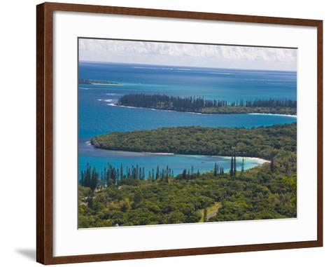 View over the Ile Des Pins, New Caledonia, Melanesia, South Pacific, Pacific-Michael Runkel-Framed Art Print