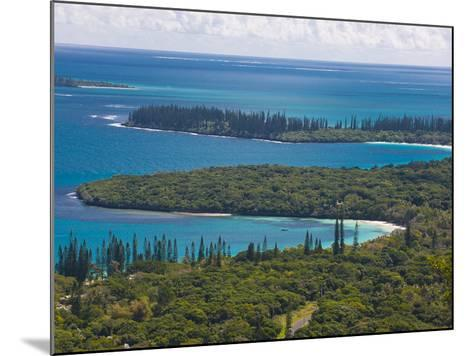 View over the Ile Des Pins, New Caledonia, Melanesia, South Pacific, Pacific-Michael Runkel-Mounted Photographic Print