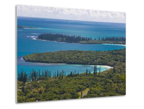 View over the Ile Des Pins, New Caledonia, Melanesia, South Pacific, Pacific-Michael Runkel-Metal Print