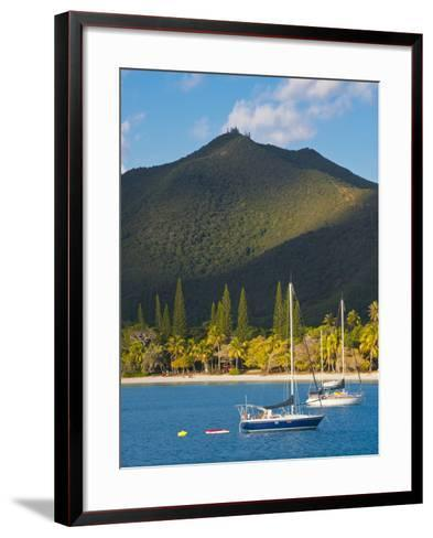 The Bay de Kuto, Ile Des Pins, New Caledonia, Melanesia, South Pacific-Michael Runkel-Framed Art Print