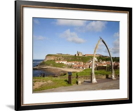 The Whalebone Arch at Whitby, North Yorkshire, Yorkshire, England, United Kingdom, Europe-Mark Sunderland-Framed Art Print