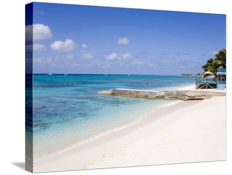 Cedar Grove Beach, Cockburn Town, Grand Turk Island, Turks and Caicos Islands, West Indies-Richard Cummins-Stretched Canvas Print