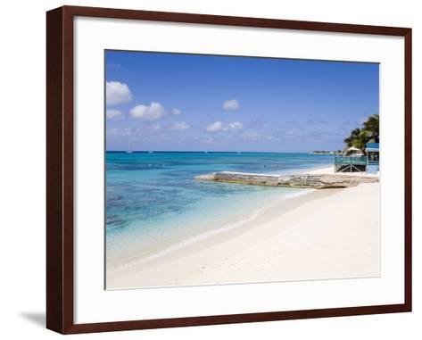 Cedar Grove Beach, Cockburn Town, Grand Turk Island, Turks and Caicos Islands, West Indies-Richard Cummins-Framed Art Print