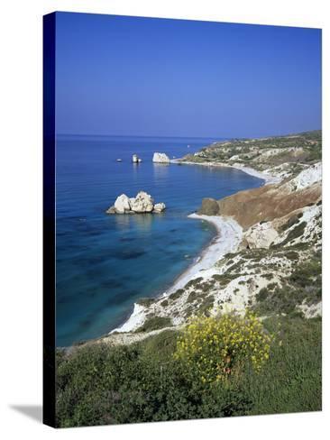 Aphrodite's Rock, Paphos, UNESCO World Heritage Site, South Cyprus, Cyprus, Mediterranean, Europe-Stuart Black-Stretched Canvas Print