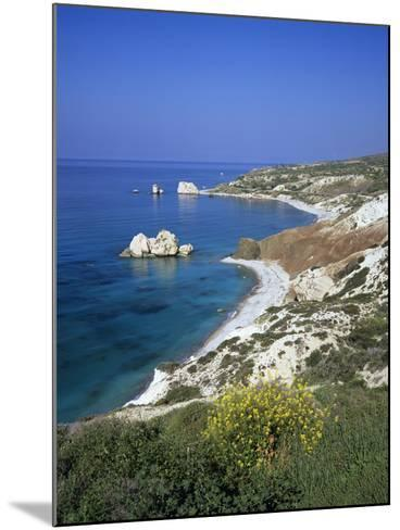 Aphrodite's Rock, Paphos, UNESCO World Heritage Site, South Cyprus, Cyprus, Mediterranean, Europe-Stuart Black-Mounted Photographic Print