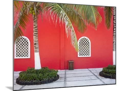 Architectural Detail in Costa Maya Port, Quintana Roo, Mexico, North America-Richard Cummins-Mounted Photographic Print