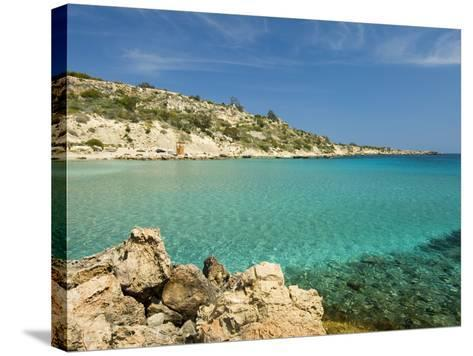 Konnos Beach, Protaras, Cyprus, Mediterranean, Europe-Stuart Black-Stretched Canvas Print