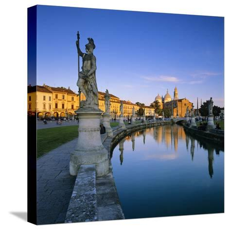 Prato della Valle and Santa Giustina, Padua, Veneto, Italy, Europe-Stuart Black-Stretched Canvas Print