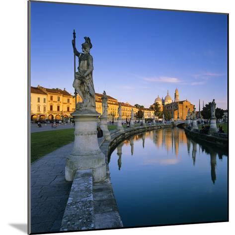 Prato della Valle and Santa Giustina, Padua, Veneto, Italy, Europe-Stuart Black-Mounted Photographic Print