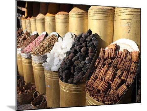 Spice Shop, Marrakech, Morocco, North Africa, Africa-Vincenzo Lombardo-Mounted Photographic Print