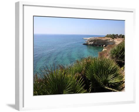 Coast Near Cassibile, Siracusa Province, Sicily, Italy, Mediterranean, Europe-Vincenzo Lombardo-Framed Art Print
