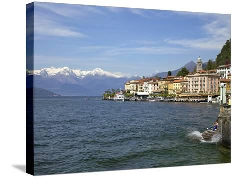 Spring Sunshine in Bellagio, Lake Como, Lombardy, Italian Lakes, Italy, Europe-Peter Barritt-Stretched Canvas Print