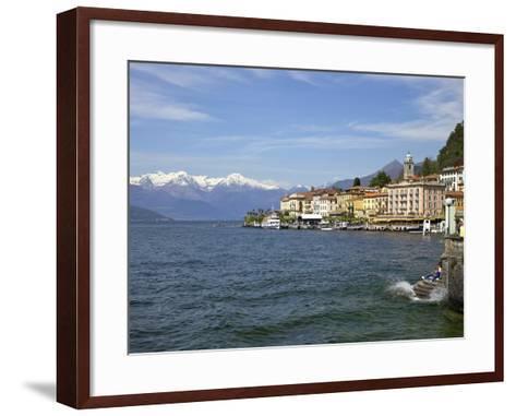 Spring Sunshine in Bellagio, Lake Como, Lombardy, Italian Lakes, Italy, Europe-Peter Barritt-Framed Art Print