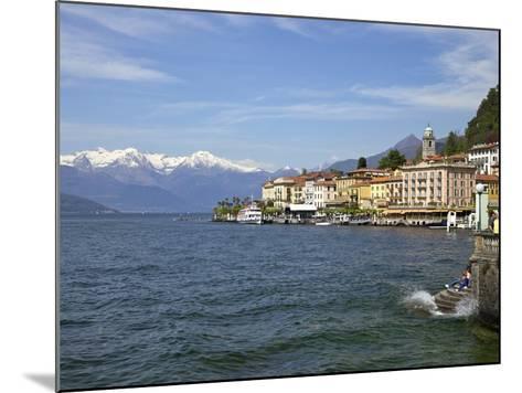 Spring Sunshine in Bellagio, Lake Como, Lombardy, Italian Lakes, Italy, Europe-Peter Barritt-Mounted Photographic Print