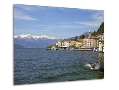 Spring Sunshine in Bellagio, Lake Como, Lombardy, Italian Lakes, Italy, Europe-Peter Barritt-Metal Print