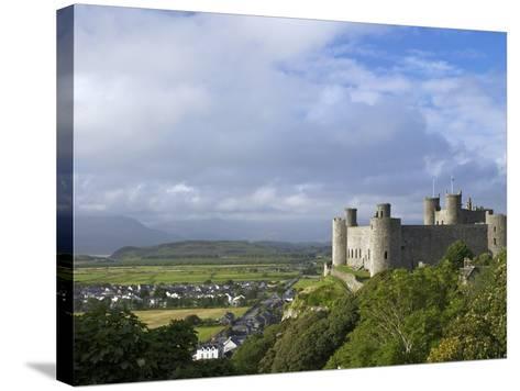 Harlech Castle in Summer Sunshine, UNESCO World Heritage Site, Gwynedd, Wales, UK, Europe-Peter Barritt-Stretched Canvas Print