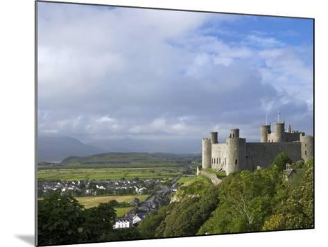 Harlech Castle in Summer Sunshine, UNESCO World Heritage Site, Gwynedd, Wales, UK, Europe-Peter Barritt-Mounted Photographic Print