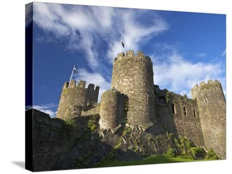 Conwy Medieval Castle in Summer, UNESCO World Heritage Site, Gwynedd, North Wales, UK, Europe-Peter Barritt-Stretched Canvas Print