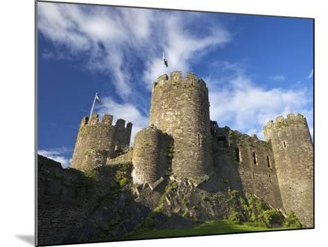 Conwy Medieval Castle in Summer, UNESCO World Heritage Site, Gwynedd, North Wales, UK, Europe-Peter Barritt-Mounted Photographic Print