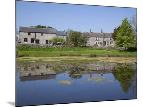 Village Pond, Monyash, Peak District, Derbyshire, England, United Kingdom, Europe-Frank Fell-Mounted Photographic Print
