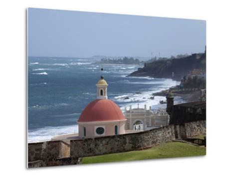 The Colonial Town, San Juan, Puerto Rico, West Indies, Caribbean, USA, Central America-Angelo Cavalli-Metal Print