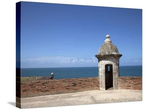 The Colonial Town, San Juan, Puerto Rico, West Indies, Caribbean, USA, Central America-Angelo Cavalli-Stretched Canvas Print
