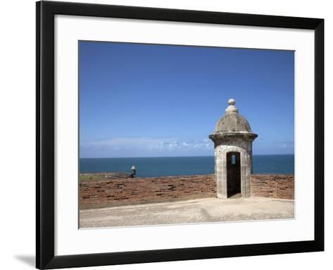 The Colonial Town, San Juan, Puerto Rico, West Indies, Caribbean, USA, Central America-Angelo Cavalli-Framed Art Print