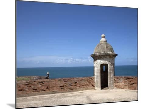 The Colonial Town, San Juan, Puerto Rico, West Indies, Caribbean, USA, Central America-Angelo Cavalli-Mounted Photographic Print