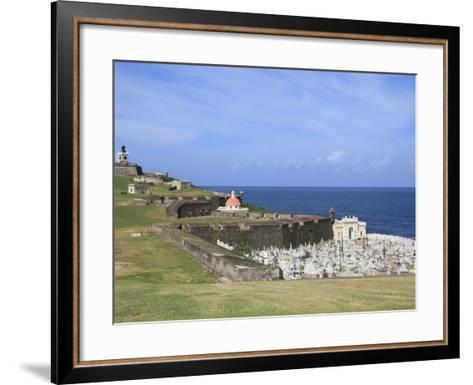 El Morro (Morro Castle), San Felipe, UNESCO World Heritage Site, San Juan, Puerto Rico, USA-Wendy Connett-Framed Art Print