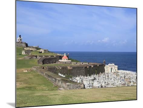 El Morro (Morro Castle), San Felipe, UNESCO World Heritage Site, San Juan, Puerto Rico, USA-Wendy Connett-Mounted Photographic Print