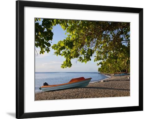 Beach on Savo Island, Solomon Islands, Pacific-Michael Runkel-Framed Art Print