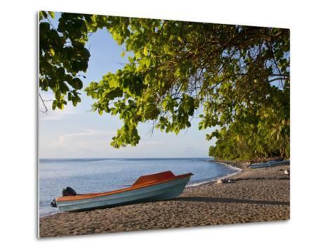 Beach on Savo Island, Solomon Islands, Pacific-Michael Runkel-Metal Print