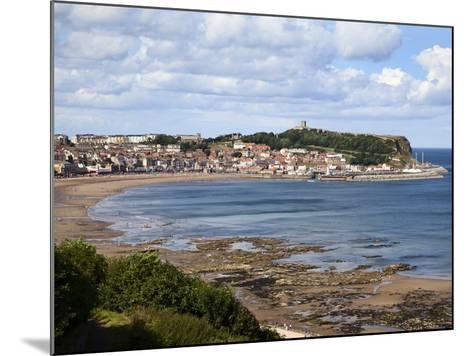 South Bay from South Cliff Gardens, Scarborough, North Yorkshire, Yorkshire, England, UK, Europe-Mark Sunderland-Mounted Photographic Print