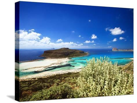 Balos Beach, Gramvousa, Crete, Greek Islands, Greece, Europe-Sakis Papadopoulos-Stretched Canvas Print
