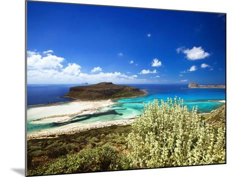 Balos Beach, Gramvousa, Crete, Greek Islands, Greece, Europe-Sakis Papadopoulos-Mounted Photographic Print