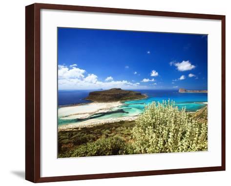 Balos Beach, Gramvousa, Crete, Greek Islands, Greece, Europe-Sakis Papadopoulos-Framed Art Print