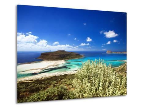 Balos Beach, Gramvousa, Crete, Greek Islands, Greece, Europe-Sakis Papadopoulos-Metal Print