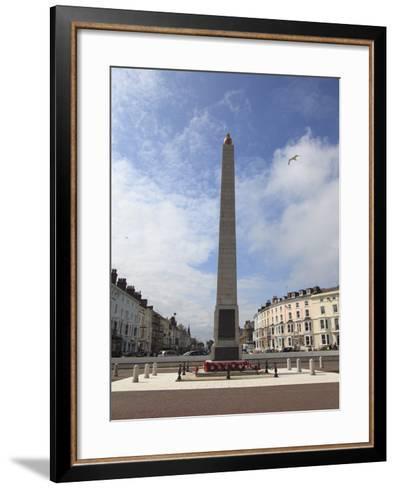 World War I Memorial, Llandudno, Conwy County, North Wales, Wales, United Kingdom, Europe-Wendy Connett-Framed Art Print