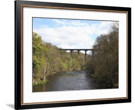 Pontcysyllte Aqueduct, UNESCO World Heritage Site, Llangollen, Denbighshire, North Wales, UK-Wendy Connett-Framed Art Print
