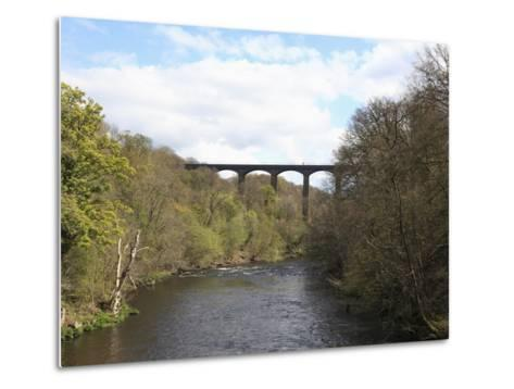 Pontcysyllte Aqueduct, UNESCO World Heritage Site, Llangollen, Denbighshire, North Wales, UK-Wendy Connett-Metal Print
