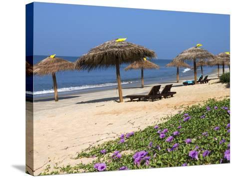 Taj Exotica Hotel Beach, Benaulim, Goa, India, Asia-Stuart Black-Stretched Canvas Print