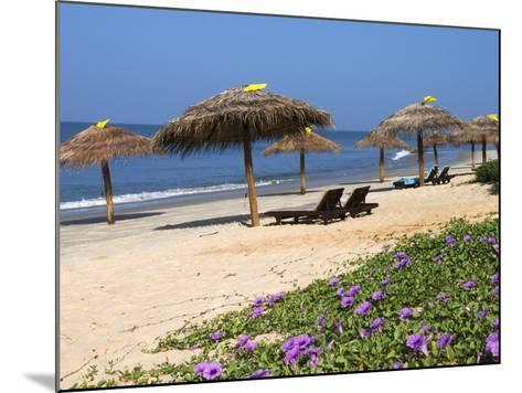 Taj Exotica Hotel Beach, Benaulim, Goa, India, Asia-Stuart Black-Mounted Photographic Print