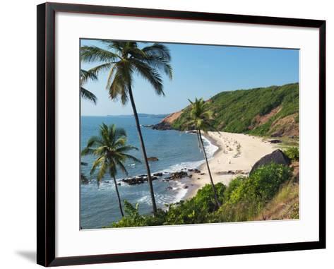 Paliem (Lakeside Beach), Arambol (Harmal), Goa, India, Asia-Stuart Black-Framed Art Print