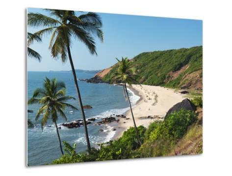 Paliem (Lakeside Beach), Arambol (Harmal), Goa, India, Asia-Stuart Black-Metal Print