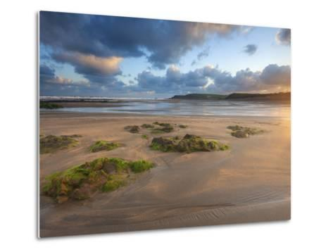 Early Morning, Widemouth Bay, Cornwall, England, United Kingdom, Europe-Chris Hepburn-Metal Print