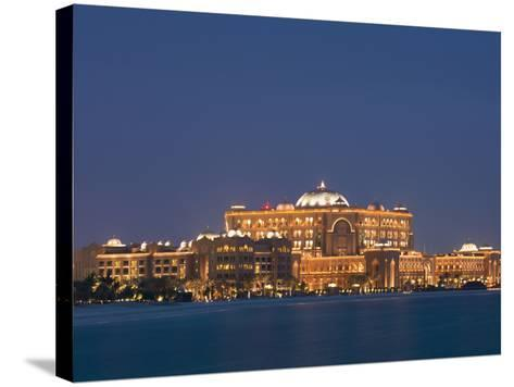 Emirates Palace Hotel, Abu Dhabi, United Arab Emirates, Middle East-Angelo Cavalli-Stretched Canvas Print