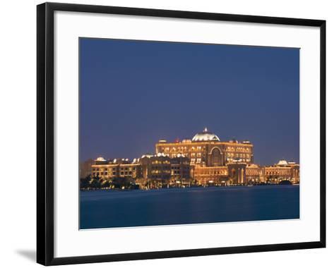Emirates Palace Hotel, Abu Dhabi, United Arab Emirates, Middle East-Angelo Cavalli-Framed Art Print